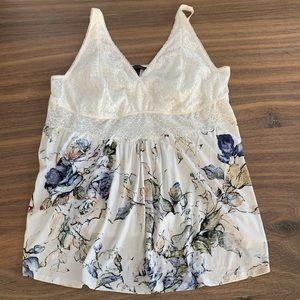 Soma Cool Nights Lace Sleep Camisole Pajama Top